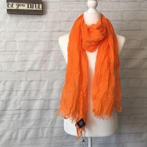 Vince Camuto Orange scarf Brand New